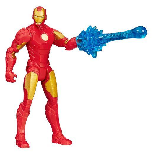 Boneco-Avangers-All-Star-375-Homem-de-Ferro---Hasbro