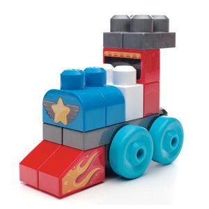 Mega-Bloks-First-Builders-20-Pecas-Veiculos---Mattel