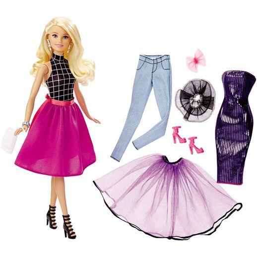 Barbie-Conjunto-Muitos-Looks-Loira---Mattel