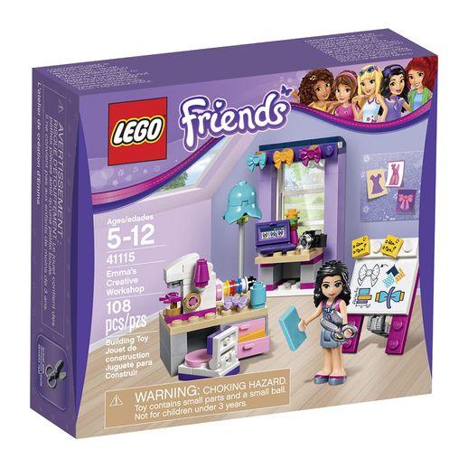 Lego-Friends-41115-A-Oficina-Criativa-da-Emma---LEGO