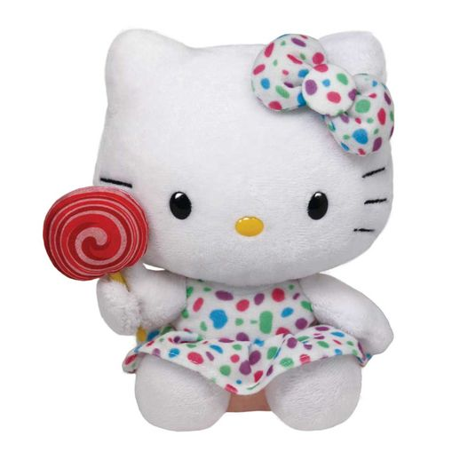 Beanie-Babies-Hello-Kitty-Branca---DTC