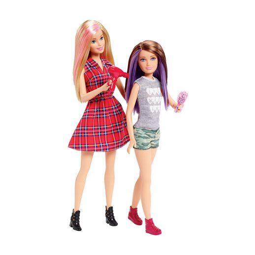 Familia-Barbie-e-Skipper---Mattel