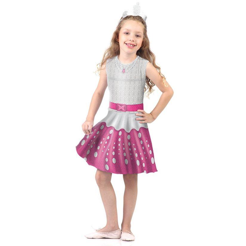 ac36a09280 Fantasia Barbie Rock in Royals Pop G Rosa - Sulamericana - Toymania