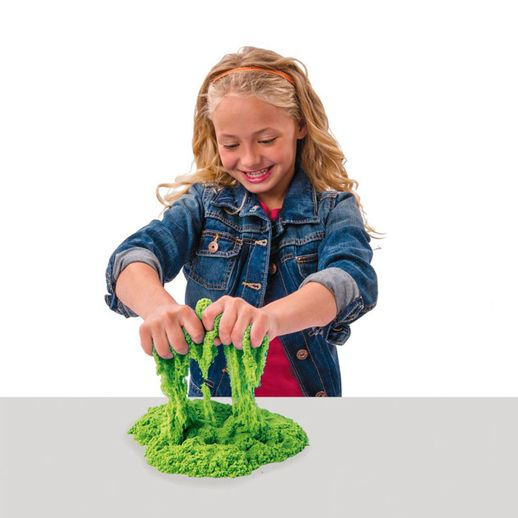 Massa-Areia-Kinetic-Sand-Colorida-Verde---Sunny