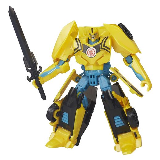 Transformers-Warriors-Bumblebee---Hasbro