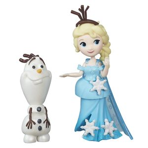 Frozen-Mini-Boneca-Elsa-e-Olaf---Hasbro