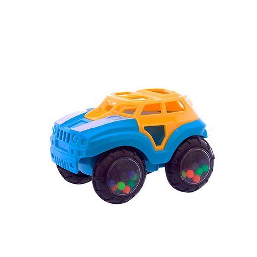 Carro-Turminha-do-Barulho-Azul-e-Amarelo---Dican-