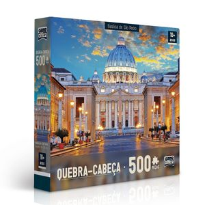 Quebra-Cabeca-Basilica-de-Sao-Pedro-500-Pecas---Toyster