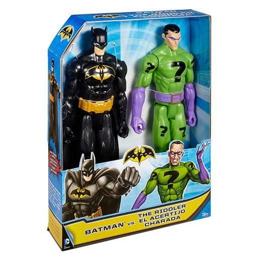 Batman-Pack-Batman-Vs-Charada---Mattel