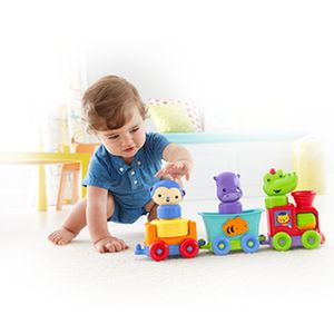 Fisher-Price-Trem-Amigos-da-Floresta---Mattel