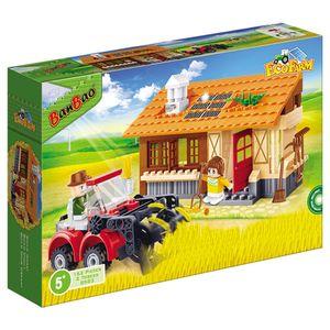 Eco-Fazenda-Colheitadeira-e-Armazem-162-Pecas---Banbao