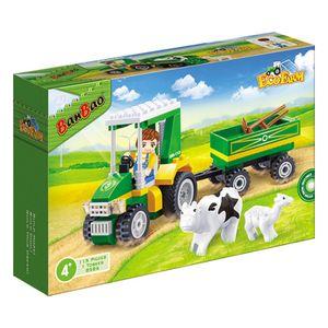 Eco-Fazenda-Trator-com-Carreta-115-Pecas---Banbao-