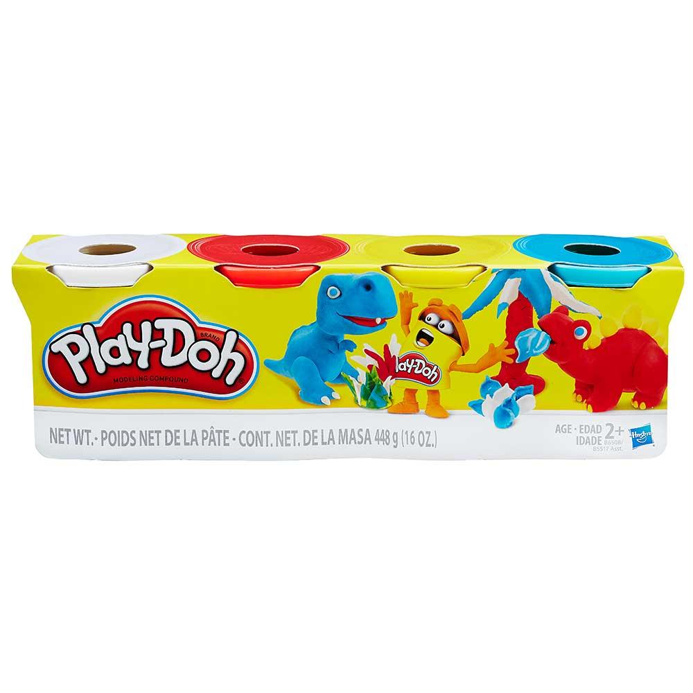 23adc4698e Massinha Play Doh com 4 Potes Sortidos - Hasbro