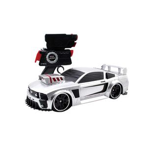 Carro-Controle-Remoto-Battle-Machines-Silver-Mustang---Candide