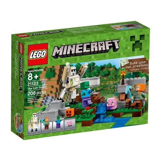 Lego-Minecraft-21123-O-Golem-de-Ferro---LEGO