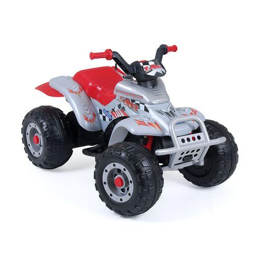 Quadriciclo-Corral-T-Rex-Prata-12V---Peg-Perego