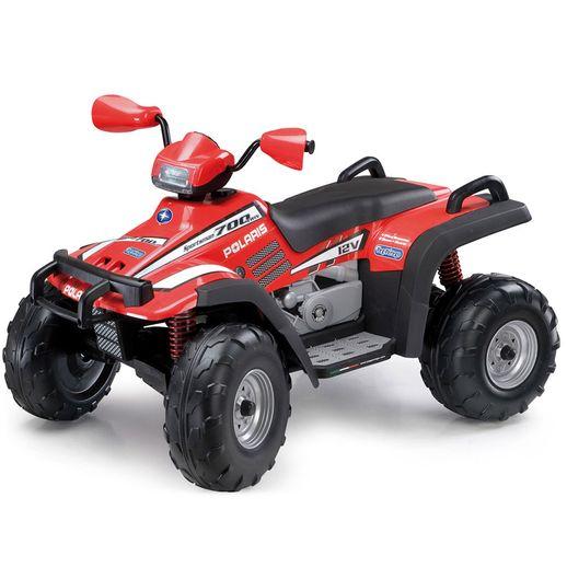 Quadriciclo-Polaris-Sportsman-700-Twin-Vermelho-12V---Peg-Perego