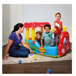 Fisher-Price-Trenzinho-Inflavel-com-Bolinhas---Intek