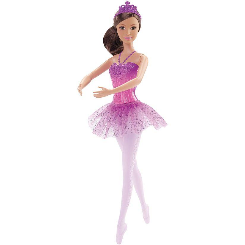 49ac47cc3c Barbie Fantasia Bailarina Morena - Mattel