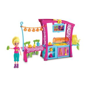 Polly-Pocket-Churrasco-Divertido---Mattel