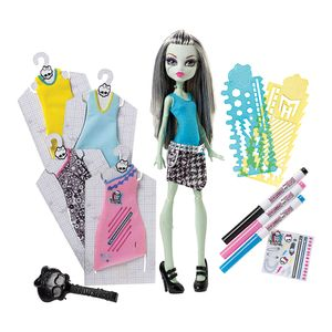 Boneca-Monster-High-Frankie-Stein-Estilos-de-Arrepiar---Mattel