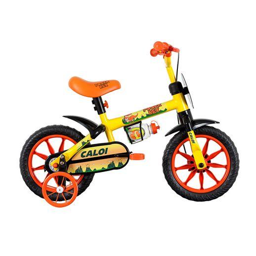 Bicicleta-Aro-12-Power-Rex-Amarela---Caloi