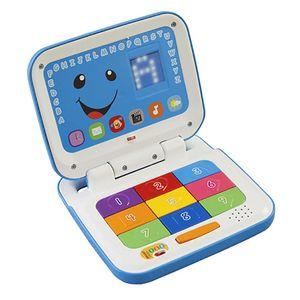 Laptop-Azul-Fisher-Price-Aprender-e-Brincar---Mattel