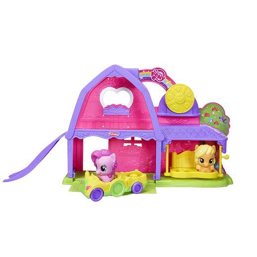 Conjunto-Playskool-My-Little-Pony-Rancho-Apple-Jack---Hasbro-