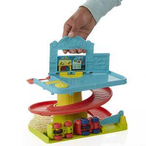 Conjunto-Playskool-Rampa-com-Veiculos---Hasbro