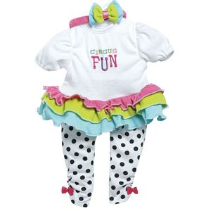 Roupa-Adora-Doll-Branca-com-Bolinhas---Shiny-Toys