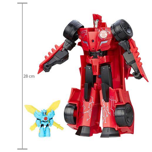 TransformersRobotsinDisguisePowerSurgeSideswipeHasbro