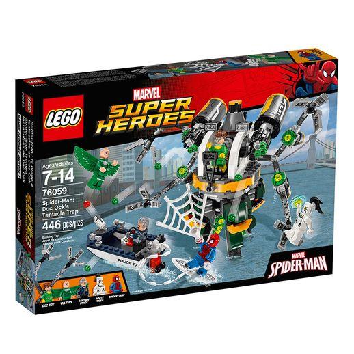 Lego-76059-Homem-Aranha-a-Armadilha-de-Tentaculos-de-Doc-Ock---Lego