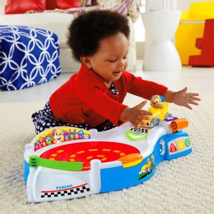 FISHER-PRICE-SUPER-PISTA-DE-CORRIDA-CACHORRINHO-CARRO