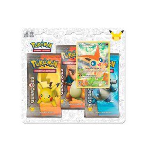 Jogo-Pokemon-Cartas-Geracoes-Blister-Triplo-Victini---Copag
