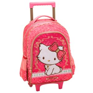 Mochila-com-Rodinhas-G-Charmmy-Kitty-Blooming---Pacific