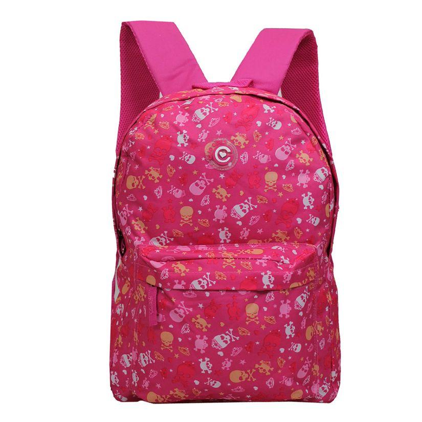 78da28504 Mochila Costas Caveira Rosa - Clio Style | Toymania - Toymania