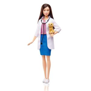 Barbie-Profissoes-Boneca-Veterinaria---Mattel