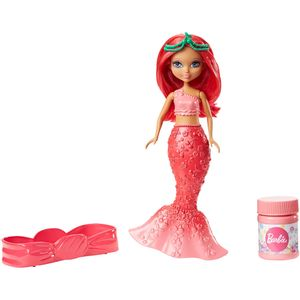 Barbie-Mini-Sereias-Bolhas-Magicas-Morango---Mattel
