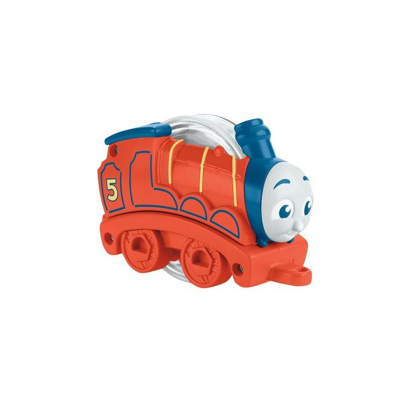 14237b251 Thomas e seus Amigos Trenzinho Chocalho Laranja - Mattel | Toymania ...