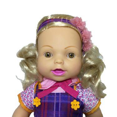 Boneca Carinha De Anjo Dulce Maria Baby Brink Toymania