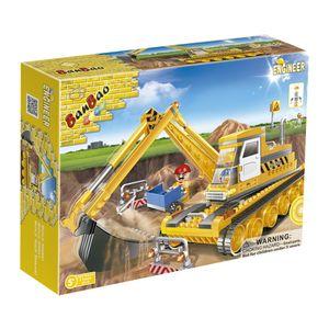 Obras-Escavadeira-220-Pecas---Banbao