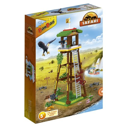 Safari-Torre-de-Observacao-170-Pecas---Banbao