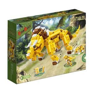 Criaturas-Triceratops-328-Pecas---Banbao