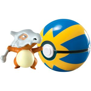 Pokemon-Cubone-com-Quick-Ball---Edimagic