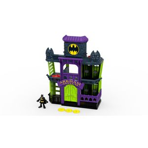 Imaginext-DC-Play-Set-Arkham---Mattel