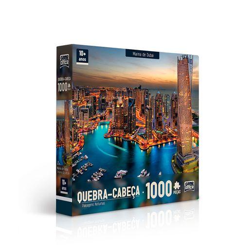QuebraCabecaMarinadeDubai1000PecasToyster