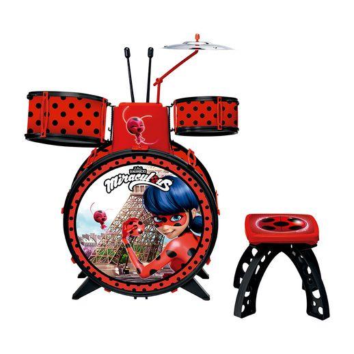 Pre-Venda---Bateria-Ladybug---Fun-Divirta-se