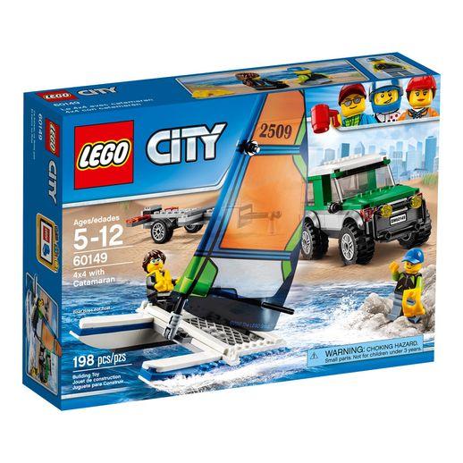Lego-City-60149-4x4-Catamara---Lego