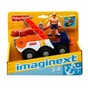 Imaginex---Veiculo-de-Resgate---Mattel