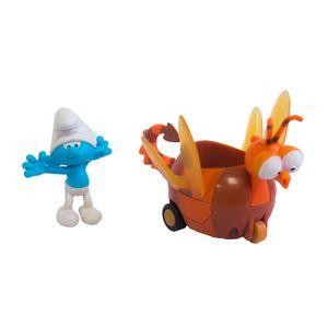 Carrinho-Smurfs-Clumsy-Smurf-e-Spitfire---Sunny